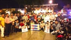 Club de Motociclistas de Trujillo se une a la campaña de Prevención de Liga Contra el Cáncer