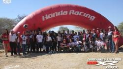 Piura participó en el test drive de la Honda XR190L