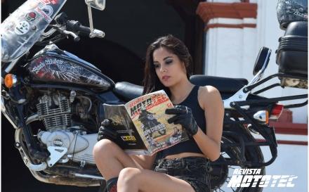 Noelia Castro, la chica mototec #5: Fotos exclusivas