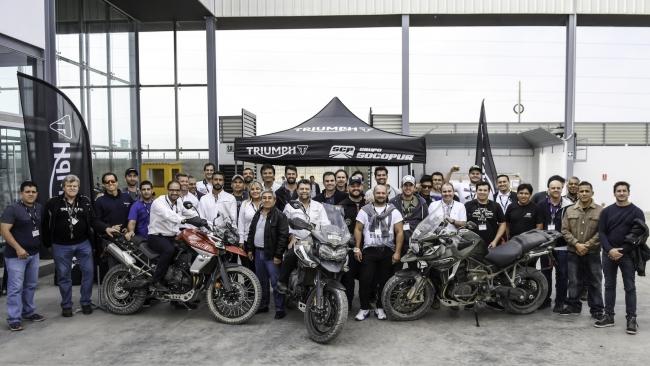 La prestigiosa marca Triumph organizó en Lima reunión regional de marketing y ventas