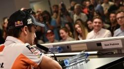Conferencia de prensa para el Gran Premio en Assen