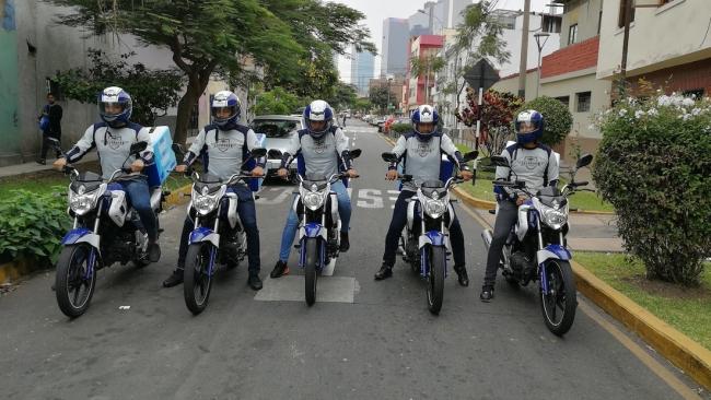 El escuadrón ITALIKA invade las calles de Lima para incentivar el uso de la Motocicleta