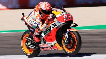 Marc Márquez gana en el circuito de Assen, en la carrera del MotoGP 2018