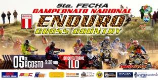 Este 5 de agosto será  la 5ta. Fecha del Campeonato Nacional de Enduro Cross Country 2018