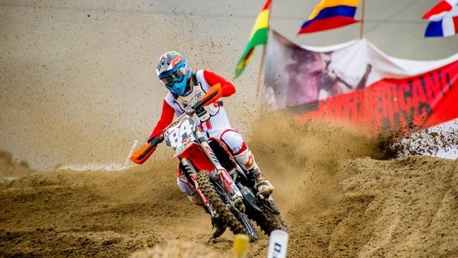 Ian Salazar se queda con el título en el Campeonato Latinoamericano de Motocross MX2