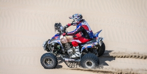 Yamaha logra podio en el Rally Cross Country