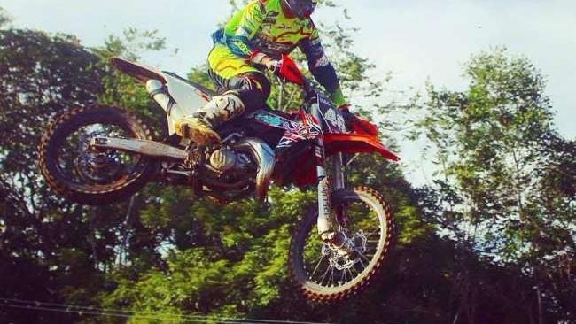 Ayrton Reátegui rumbo al Latinoamericano MX2 de Chilca