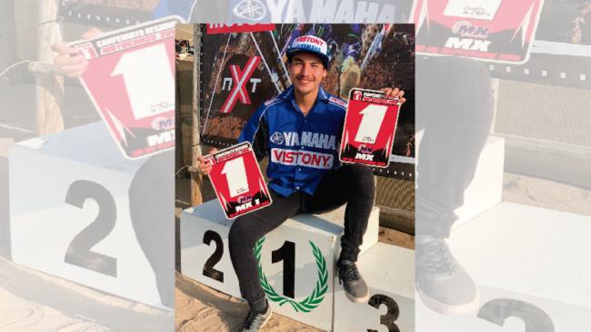 Ian Chia cierra el Regional de Motocross con doble victoria