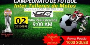 1er Campeonato de Fútbol Inter Talleres de Motos